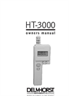 Model HT-3000 - Thermo Hygrometer- Brochure