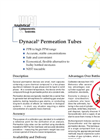 Dynacal® Permeation Tubes Brochure (PDF 298 KB)