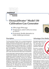 Dynacalibrator - Model 150 - Calibration Gas Generators Brochure