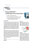 Dynacalibrator - Model 230 - Calibration Gas Generators Brochure