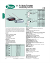 Series 641 Air Velocity Price Catalog
