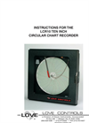 Circular Chart Recorder - Series LCR10 Manual