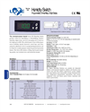 Humidity Switch - Series HS Catalog