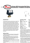 Automated Ball Valve - Series ABV Manual