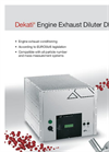 Dekati® Engine Exhaust Diluter DEED Brochure