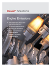 Engine Emission Measurement Solutions Brochure