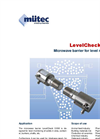 LevelCheck - Model LC 510M - Microwave Barrier for Level Monitoring Datasheet