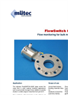 Model FS 600E - Flow Monitoring for Bulk Materials Datasheet