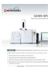 Gas Chromatograph Mass Spectrometer GCMS-QP2010 SE Brochure