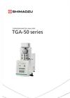 TGA-50/51 Thermogravimetric Analyzers Brochure