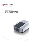 UV-2600/2700 UV-Vis Spectrophotometers Brochure