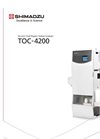 Shimadzu - Model TOC-4200 - Online Total Organic Carbon Analyzer - Brochure