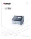 Shimadzu - Model UV-1800 - UV-VIS Spectrophotometer - Brochure