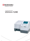 UVmini-1240 - UV-Vis Spectrophotometer Brochure