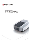 Shimadzu - Model UV-2600/2700 - Compact, High-performance Spectrophotometers - Brochure