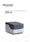 Shimadzu - Model EDX-LE - Energy Dispersive X-ray Fluorescence Spectrometer - Brochure