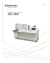 Shimadzu - Model XRF - 1800 - Sequential X-Ray Fluorescence Spectrometer - Brochure