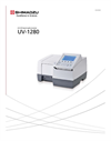 Shimadzu - Model UV-1280 - Multipurpose UV-Visible Spectrophotometer - Brochure