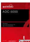Shimadzu AOC-5000 Plus Liquid, Headspace and SPME GC Injection System Brochure