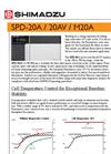 Shimadzu SPD-20A/20AV Series Photo Diode Array Detector Brochure