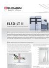 Shimadzu - Model ELSD-LTII - Low Temperature Evaporative Light Scattering Detector - Brochure