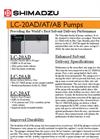 Shimadzu LC-20AD Liquid Chromatographs Brochure