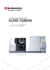Shimadzu - Model GCMS-TQ8040 - Gas Chromatograph Mass Spectrometer - Brochure