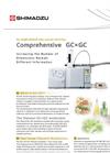 Comprehensive 2-Dimensional GCxGCMS System Brochure