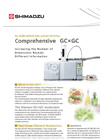 Model GC-MS (GCxGC-MS) - Comprehensive 2-Dimensional System - Brochure