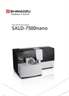 SALD - Model 7500nano - Nano Particle Size Analyzer - Brochure
