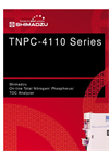 Shimadzu TNPC-4110/4110C On-line Total Nitrogen/ Phosphorus/ TOC Analyzer Brochure