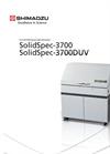 Shimadzu SolidSpec 3700/3700DUV UV-VIS Spectrophotometers Brochure