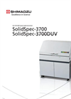 Shimadzu SolidSpec - Model 3700/3700DUV - UV-VIS Spectrophotometers - Brochure