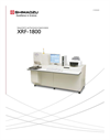 XRF-1800 Sequential X-ray Fluorescence Spectrometer Brochure