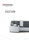 SALD-2300 Laser Diffraction Particle Size Analyzer Brochure