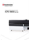 Shimadzu - Model ICPE-9800 Series - Simultaneous ICP Atomic Emission Spectrometers - Brochure