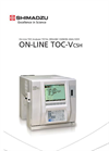 Shimadzu - Model TOC-VCSH - On-Line Total Organic Carbon Analyzer - Brochure