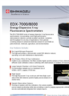 Model EDX-7000/8000 - Energy-Dispersive X-ray Fluorescence Spectrometers - Flyer