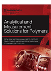 Analytical and Measurement Solutions for Polymers - Brochure