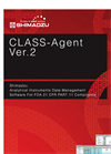 CLASS-Agent - Version Ver.2 - Analytical Instruments Data Management Software - Brochure