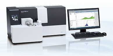SALD - Model 7500nano - Nano Particle Size Analyzer