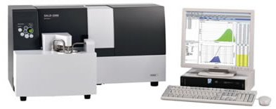Model SALD-2300 - Laser Diffraction Particle Size Analyzer