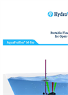 AquaProfiler - Model M-PRO - Portable Flow Profiler for Open Channels - Brochure