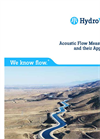 Acoustic Flow Measurements and their Applications Brochure