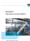 ROTAMAT - Model RoMem - Membrane Screen Brochure