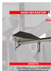 Dutch Spiral - Sand Screw Separators - Brochure