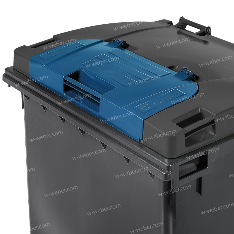 Wheelie bins Weber - Model MGB 1100 L FL LIL - Mobile Waste Containers