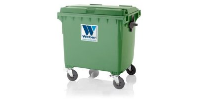 Weber - Model MGB 1100 L FL C - Mobile Waste Containers