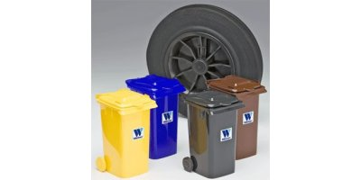 Weber - Model 0.4 L - Plastic Miniature Mini-Wheelie Bins