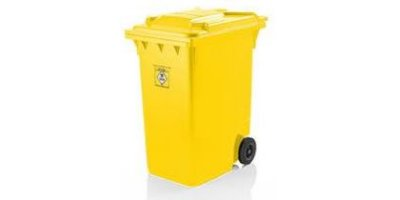 Weber - Model MGB 360 Litre - Mobile Waste Container for Clinical Waste